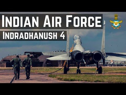 Indradhanush 4 - Military Exercise  2015 ( IAF + RAF )