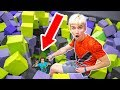 Download HE WAS HIDING AT THE TRAMPOLINE PARK!! in Mp3, Mp4 and 3GP