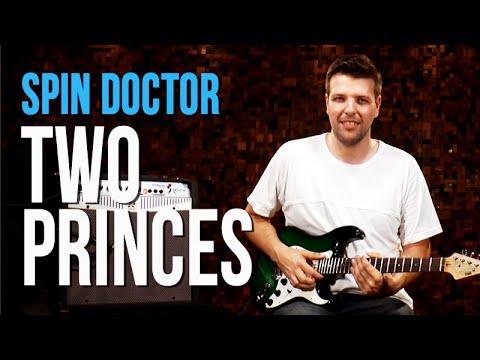 Spin Doctors Two Princes como tocar aula de guitarra