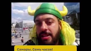 Бразильский болельщик Томер Савойя учит татарский язык