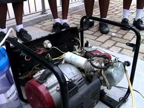 Generator Powered by Urine Urine Powered Generator in