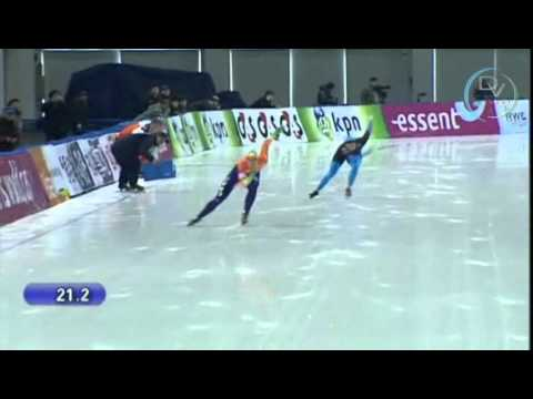 Margot Boer & Heather Richardson 500m, 2nd round, Changchun 2010