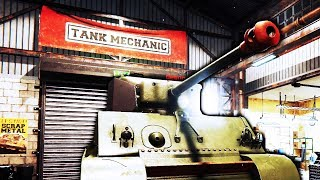 Demon Jeep Tries to Kill Me During Tank Excavation - Tank Mechanic Simulator - Let's Game It Out