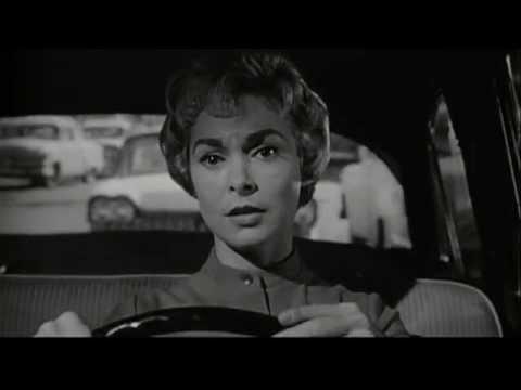 Psycho Stereo Clips Pt. 2 - Marion's Escape - Bernard Herrmann - Alfred Hitchcock - 1960