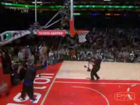 "All of Andre Iguodala's dunks in the 2006 All-Star Dunk Contest. Slow-motion, a lot of camera angles and music ""Ante Up - MOP""."