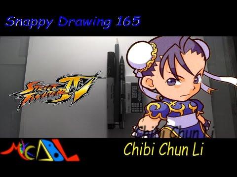Snappy Drawing 165 Chibi Chun Li