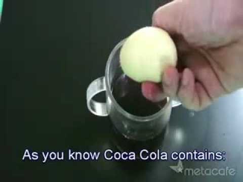 coke and  egg experiment