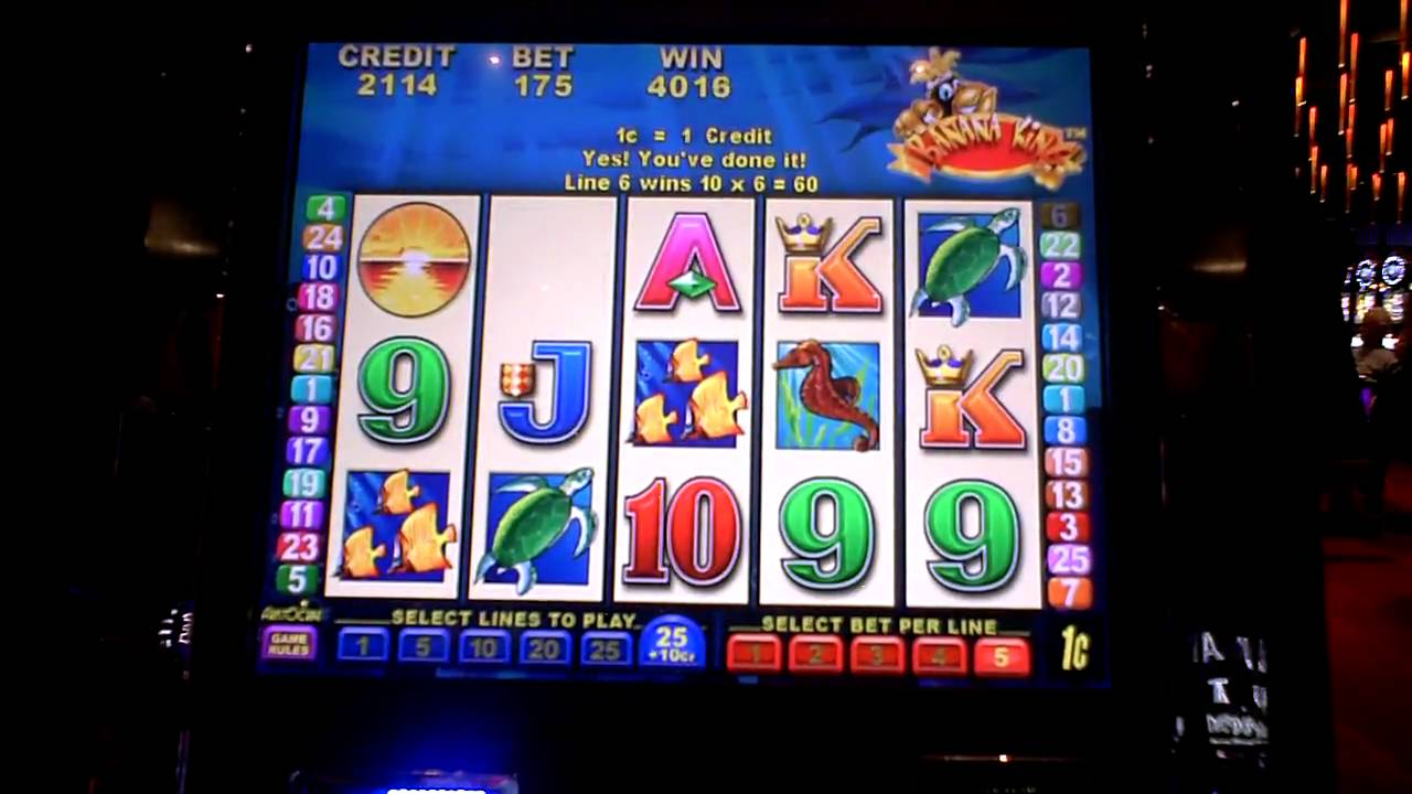 banana king slot machine