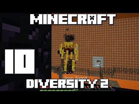 Minecraft Mapa DIVERSITY 2 Capitulo 10