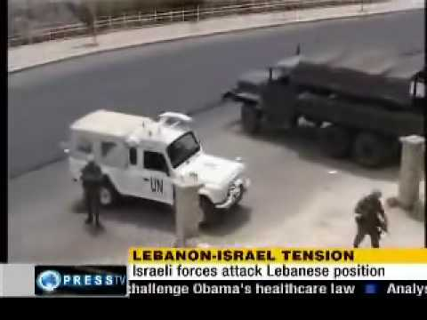 israeli Forces Attack Lebanese Army Positions.