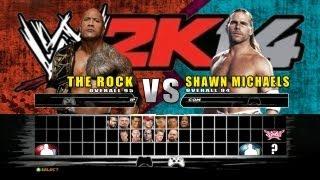 WWE 2K14 -  Match Finder + Online Game Play + Ranking