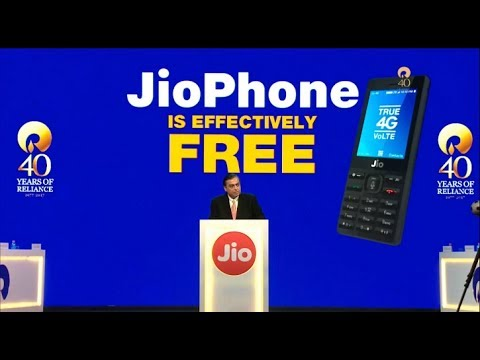 Get Jio Phone for Free | Jio Feature Phone Launched | Gadgets Hub