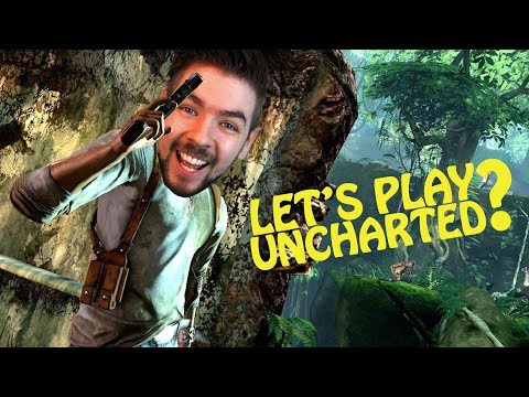 Jacksepticeye announces an Uncharted Let's Play?