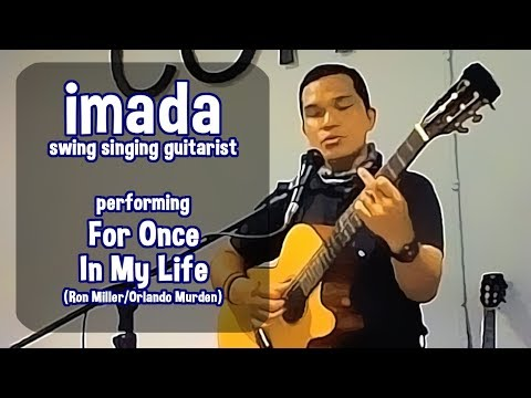 For Once In My Life (Frank Sinatra cover) - imada the swing singing guitarist MP3