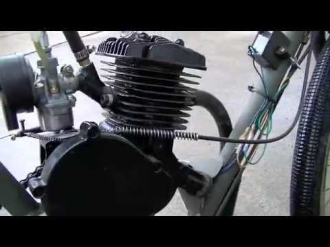 66cc Motorized Bike   2 Stroke Bike Motor Kit
