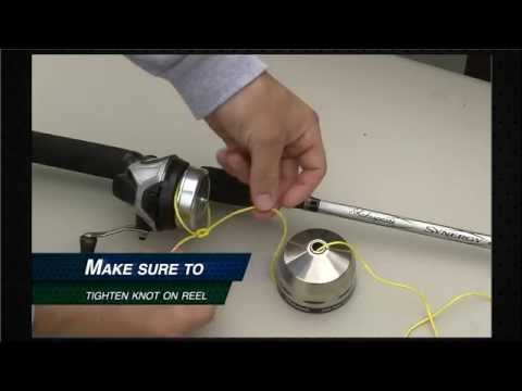 How to Respool a Spincast Reel