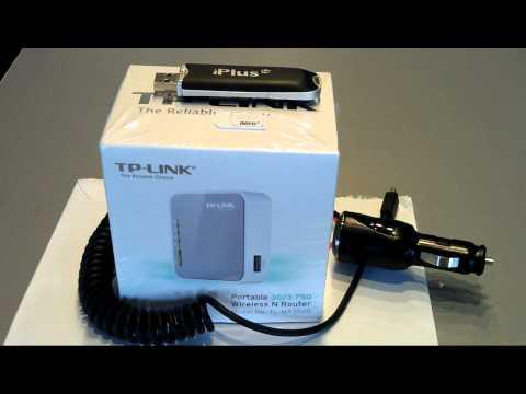 Darmowy internet w aucie Free internet in the car in Poland aero2 TP-LINK TL-MR3020 cz.1