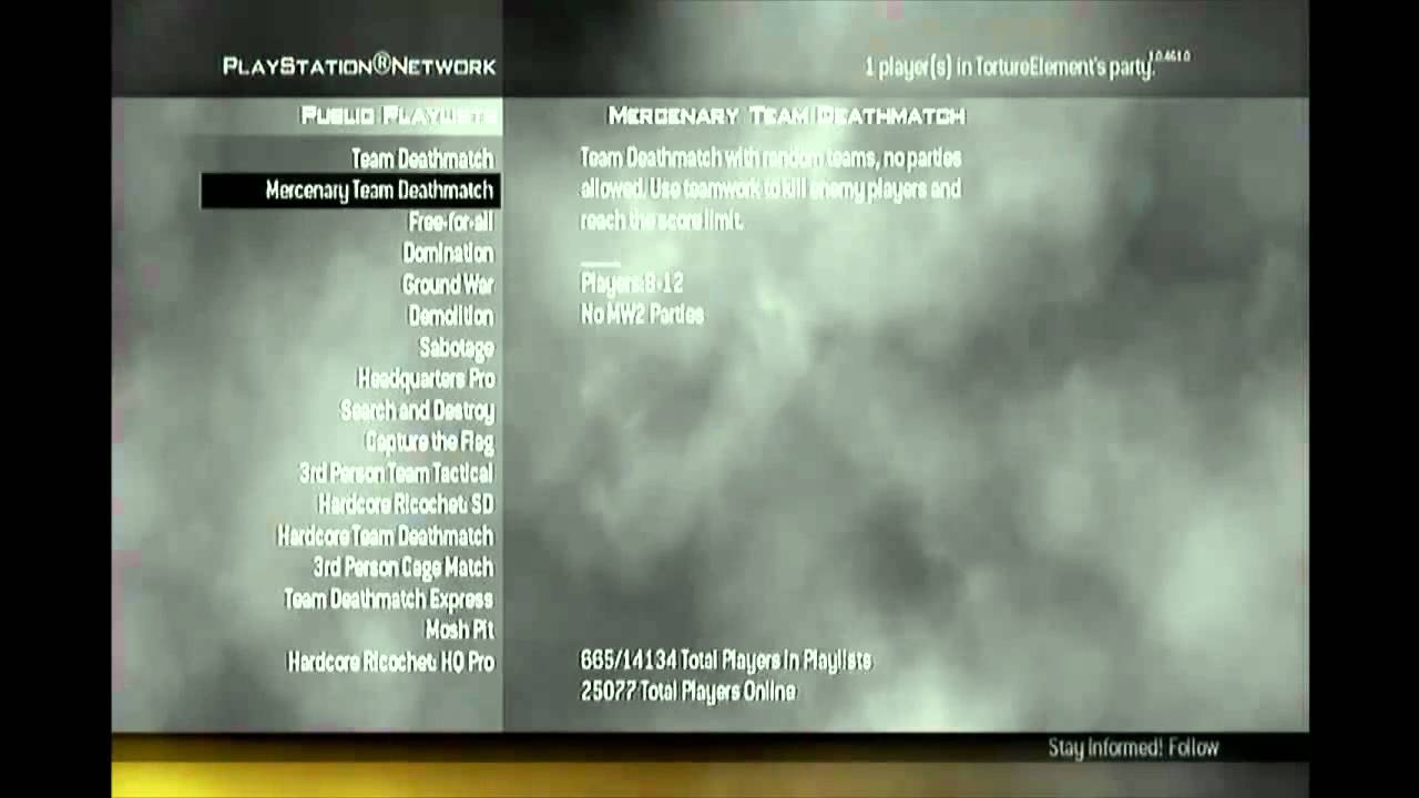 [PS3] How to Set up a Modded Lobby in Mw2 | Se7enSins ...