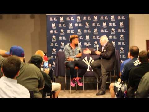 Odell Beckham Jr. Q&A at Yankee Stadium
