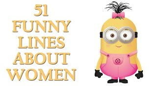 51 Funny Line About Women | Funny Quotes On Women