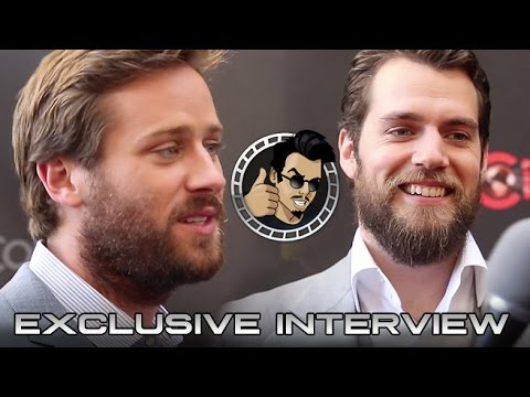 Cinemacon 2015: Henry Cavill and Armie Hammer Interview - The Man From U.N.C.L.E. (HD) 2015