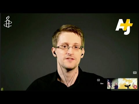Snowden Says Data Collection Not Effective, U.S. Surveillance Programs Need Reform