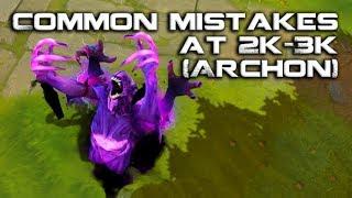 Dota 2: Common Mistakes in the Archon (2k-3k) Bracket | How To Play Dota 2