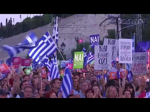 Greece divided on debt bailout vote