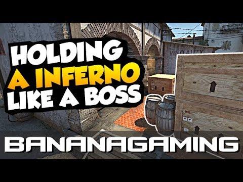 Holding A Inferno like a Boss (CS:GO)
