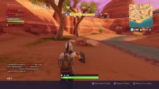 Fortnite (Funny game play)