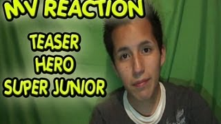 MV Reaction - SUPER JUNIOR / 「Hero」Teaser
