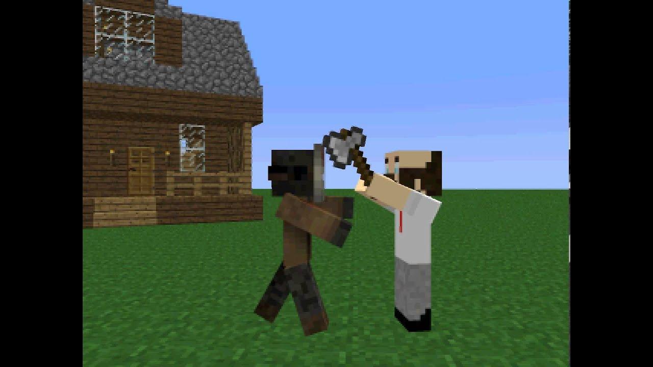 Jason Voorhees In Minecraft YouTube