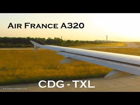 Tripreport | Air France A320 | Paris CDG to Berlin TXL | Economy Class [Full HD]