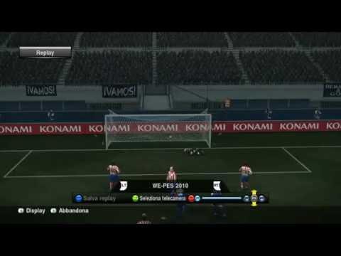   Pes 2010 [HD]   – Spettacolare goal in rovesciata di Martin Palermo -