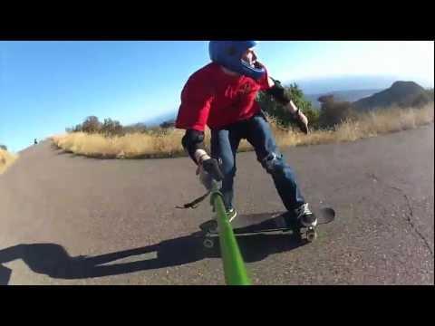 SantaGnarbara Longboarding: SB Coastin'