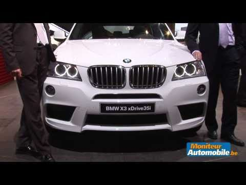 Mondial de l'automobile 2010 : BMW X3