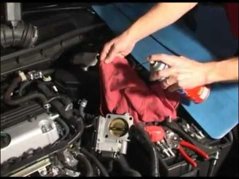 Honda Electronic Throttle Body Youtube