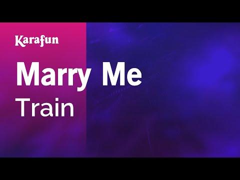 Karaoke Marry Me - Train *