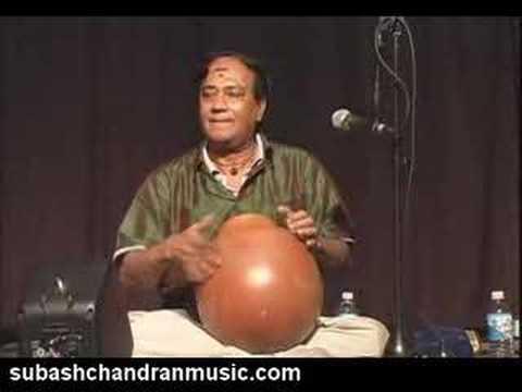 Ghatam solo - Sri Subash Chandran PASIC 2007