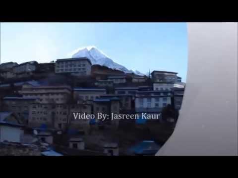 Beautiful Sherpa Village Namche, Everest Namche Trek