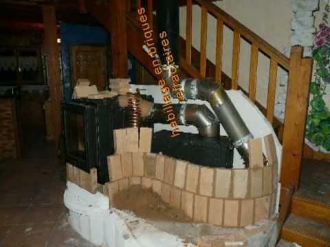 constructeur poele de masse youtube. Black Bedroom Furniture Sets. Home Design Ideas