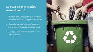 Choose Corporate Electronic Recycling Services By Arion Global Inc.