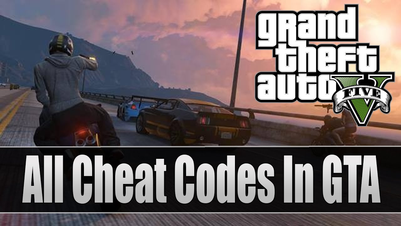 "GTA 5: ALL Cheat Codes ""Full List - PS3 and Xbox 360"" (Grand Theft ..."