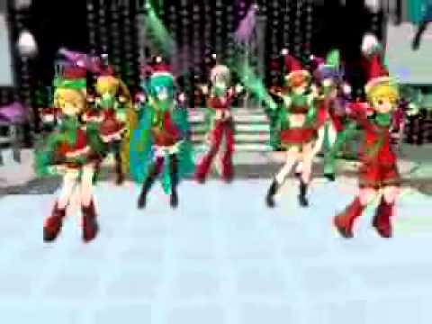 [MMD] CaramellDansen - Vocaloid [Christmas Models!]