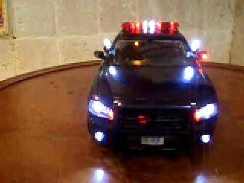 1 18 nysp dodge charger new york state police lights. Black Bedroom Furniture Sets. Home Design Ideas