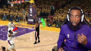 Damian Lillard Buzzer Beater On Me! Lakers vs Blazers Playoff Game 1
