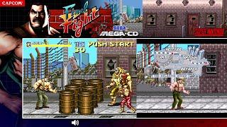 Final Fight ファイナルファイト   Sega CD v SNES   Full Play Comparison