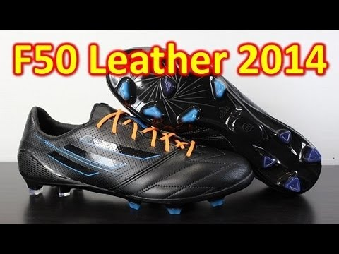 Adidas Leather F50 adizero miCoach 3 2014 Blackout - Unboxing + On Feet