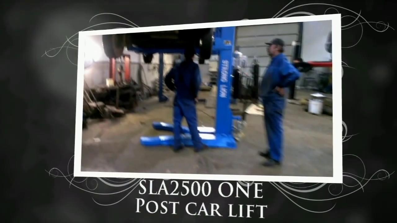 Car Lift One Post Car Lift