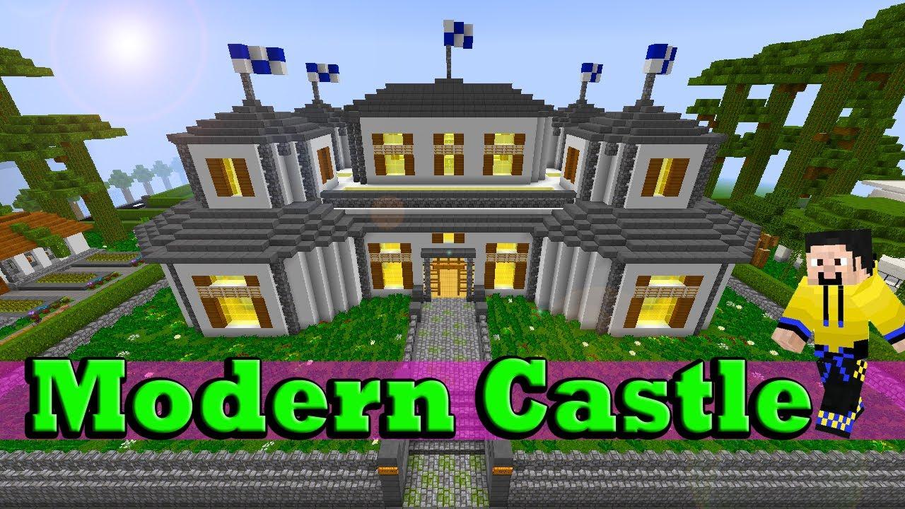 Minecraft Modern Castle